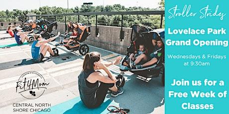 Lovelace Park Stroller Strides Grand Opening tickets