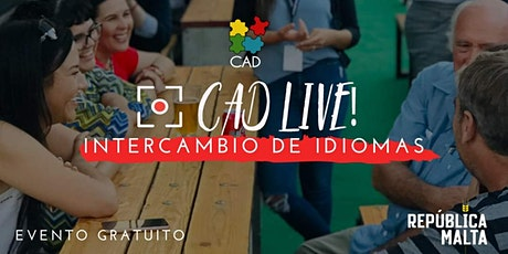 CADlive Intercambio de Idiomas boletos