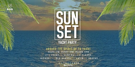 SUNSET Yacht Party tickets
