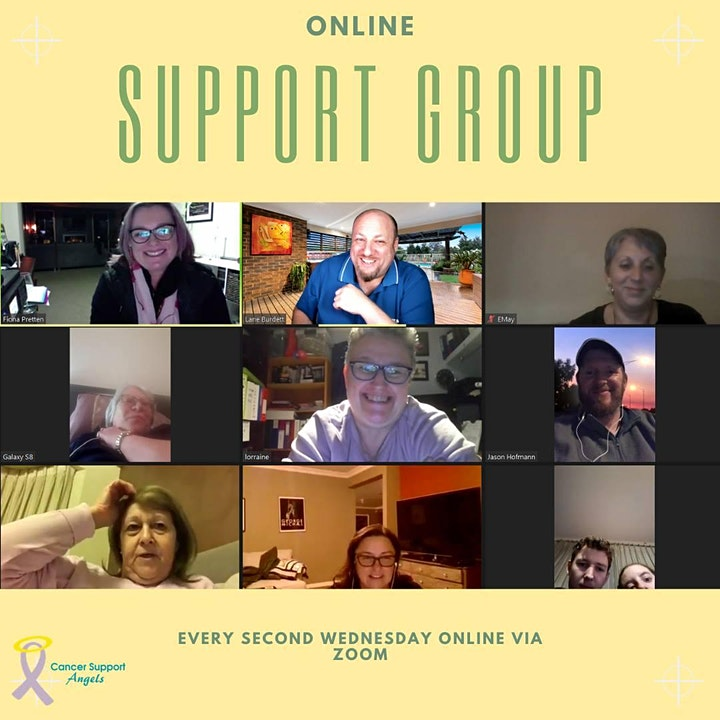 Online Support Group - Coffee Catch Up image