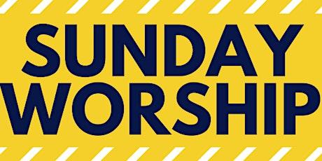 Sunday Worship tickets