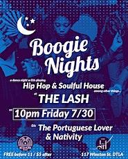 BOOGIE NIGHTS @ THE LASH tickets
