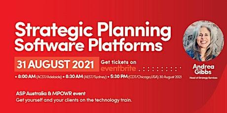 Strategic Planning Software Platforms tickets