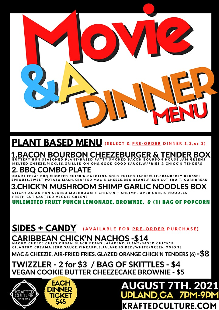 Movie & A  Dinner image