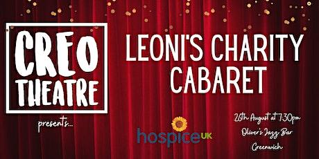 Creo Theatre Presents: Leoni's Charity Cabaret tickets