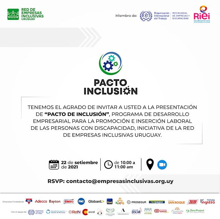 """Imagen de Presentación de """"Pacto de inclusión"""""""