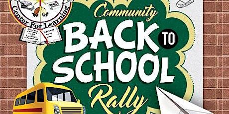 EDC Community Back to School Rally tickets