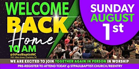Sunday Morning Worship - August 1, 2021 tickets