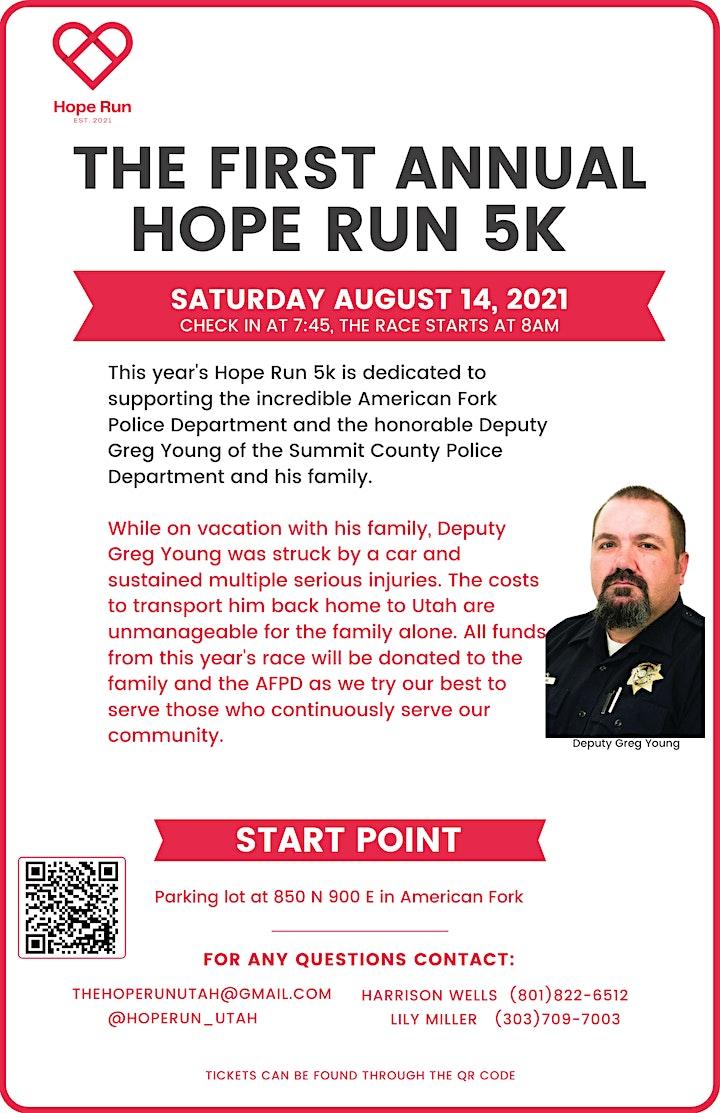 Hope Run Charity 5k image