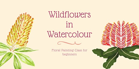 Wildflowers in Watercolour - at the Loft tickets