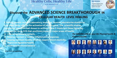 Discover the ADVANCED Science Healing Improve body 5 auto immune system tickets