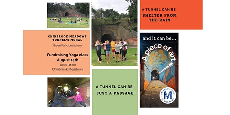 Fundraising Yoga class for Chinbrook Meadows tunnel's Mural tickets