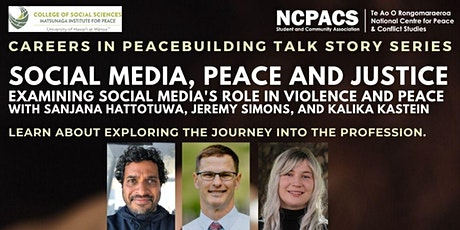 Social Media, Peace and Justice tickets