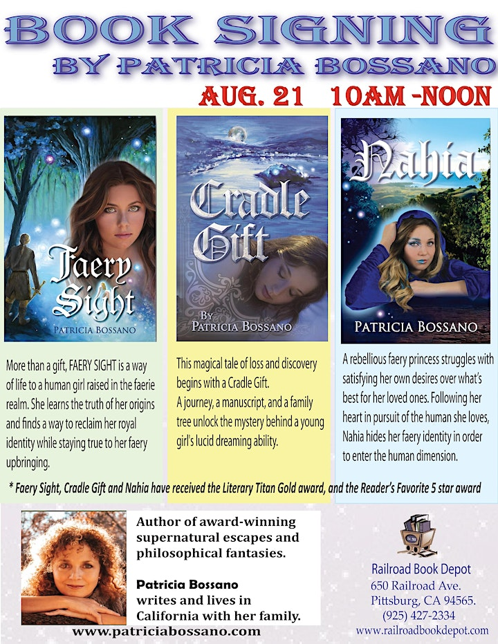 Book Signing by Patricia Bossano image