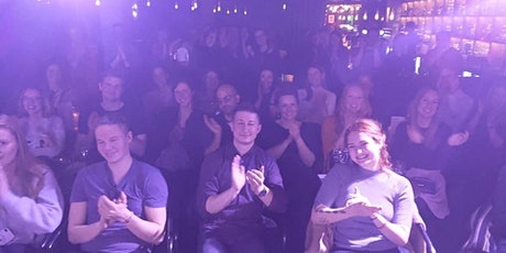 New in Town - The Social English Comedy Show with FREE SHOTS 11.08. tickets