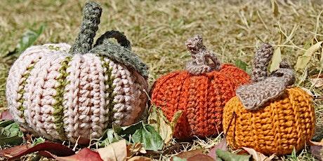Beginners & Beyond Crochet-a-Long   Pumpkins tickets