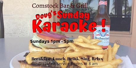 Sunday Lunch & Karaoke Show With Doug tickets