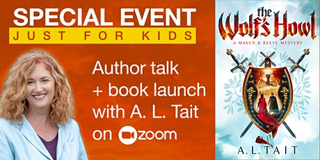 LIVE ON ZOOM: Author talk and book launch with A. L. Tait tickets