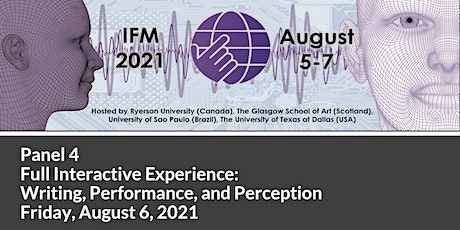 Interactive Film and Media Conference 2021 - Panel 4 tickets