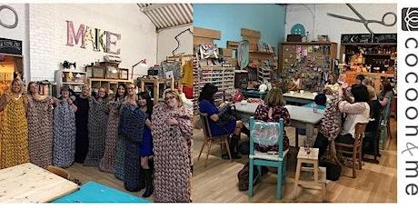 Arm Knitting Blanket Workshop - Chichester tickets