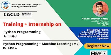 Training on Python + Machine Learning (ML) tickets