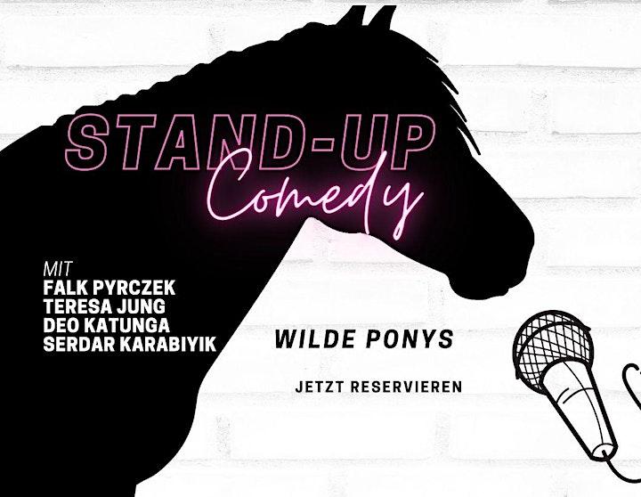 Stand-up Comedy am Sonntag • klimatisiert • F-Hain • 20 Uhr | WILDE PONYS: Bild