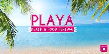 Playa Beach & Food Festival Tickets