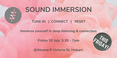 Midwinter Sound Immersion at Alceme - NEW DATE tickets