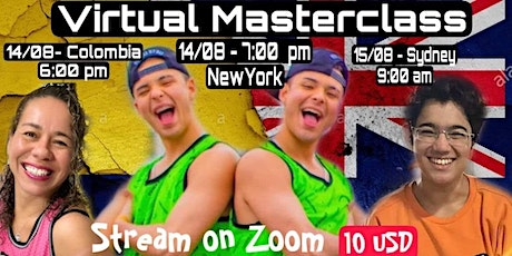 COLOMBIA MEETS AUSTRALIA - MASTERCLASS WITH THE BROTHERSTWINZ!! tickets