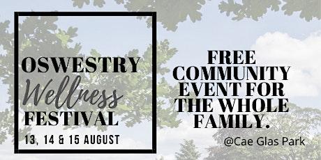 Oswestry Wellness Festival tickets