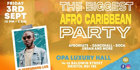 The Biggest Afro Caribbean Party with IQ tickets