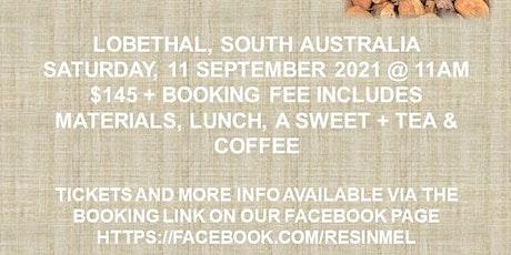 Copy of Resin art workshop (beginners 18+) LOBETHAL tickets