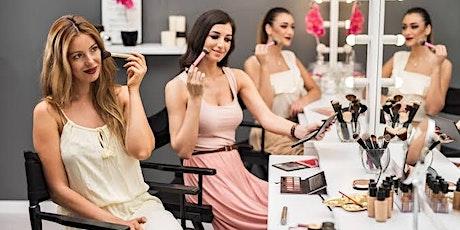 Beauty & Bubbles - makeup workshop tickets