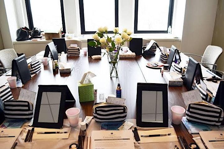 Beauty & Bubbles - makeup workshop image