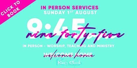 King's Church Indoor Gathering- 9.45am Service tickets