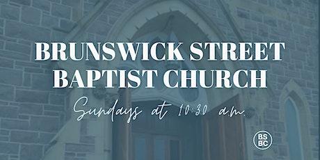 Brunswick Street Baptist Church  - Sunday, Aug. 1 tickets