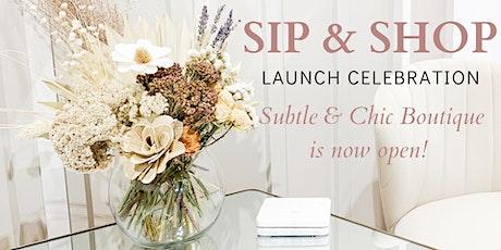 S & C Boutique Launch Celebration! tickets