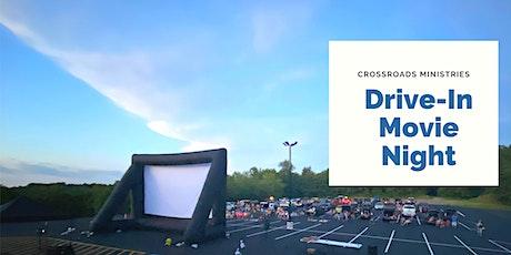Crossroads Ministries August Summer Drive-In  Movie Night tickets