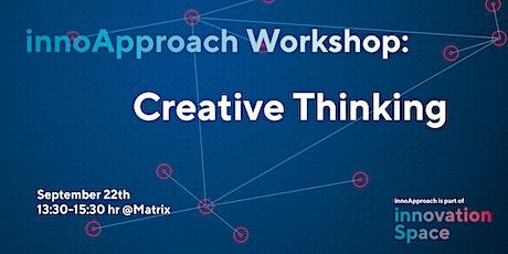 innoApproach: Creative Thinking tickets
