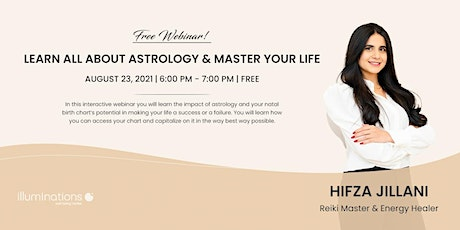 Free Webinar! Learn All About Astrology & Master Your Life tickets