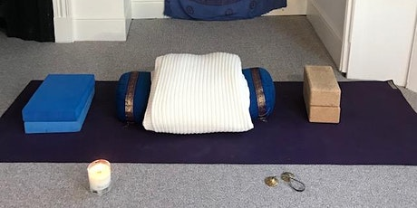 Restorative Yoga - setting up home practice tickets