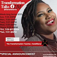 Transformation Talks Tickets