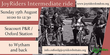 Intermediate: Seacourt P&R / Oxford Station to Wytham and back tickets