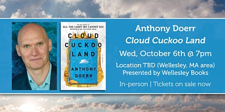 """Anthony Doerr presents """"Cloud Cuckoo Land"""" tickets"""