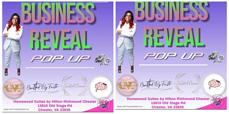 Business Reveal PopUp tickets
