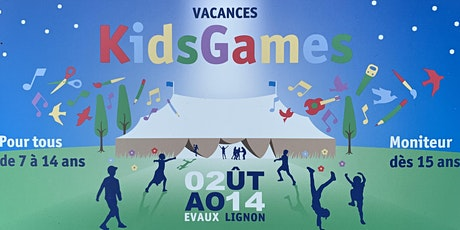 KidsGames Genève billets