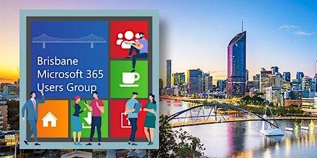 Brisbane Microsoft 365 Users Group – July 2021 tickets