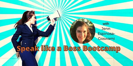 Speak like a Boss Bootcamp tickets