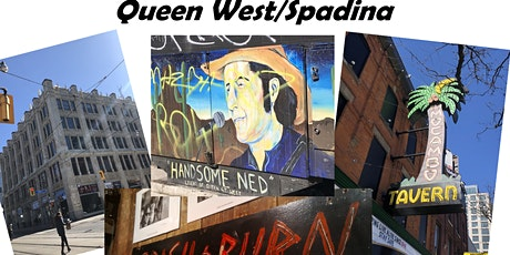 Queen Street West and Spadina INCREDIBLE Music History tickets