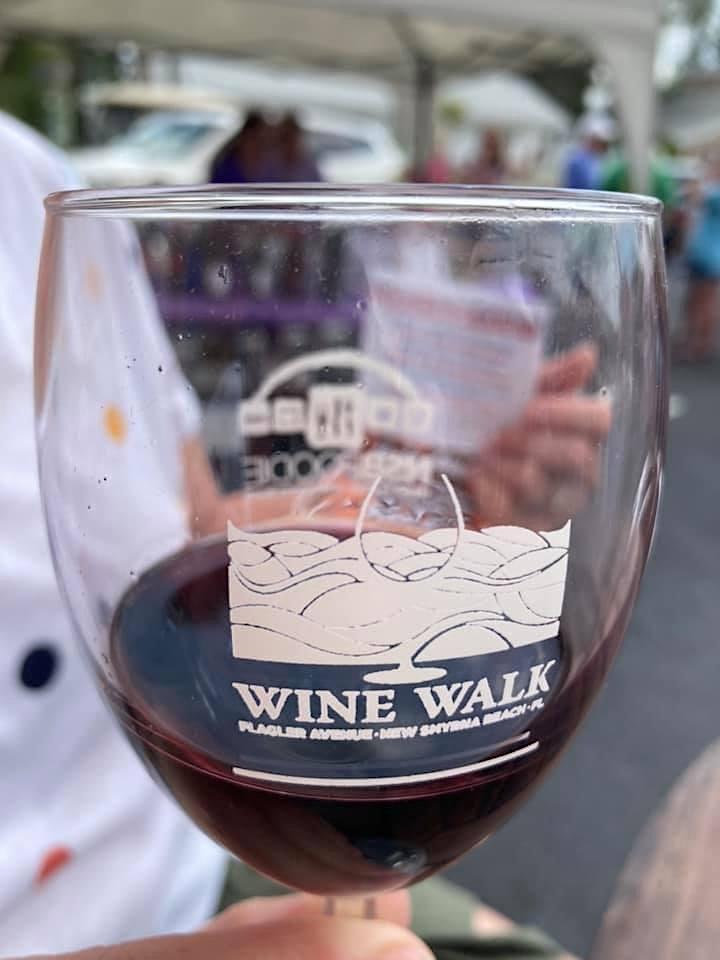 Flagler Avenue Wine Walk - Monthly Wine Tasting Event image